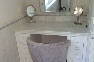 Custom Vanity Installation