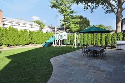 Suffolk County backyard redesign